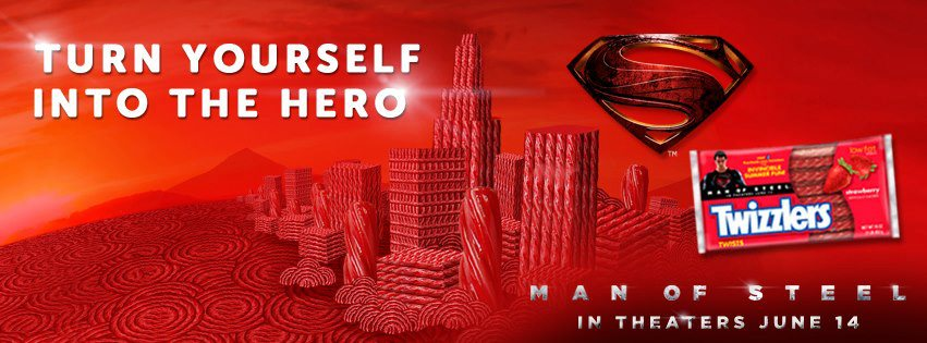 Via the Superman: Man of Steel Facebook fan page.