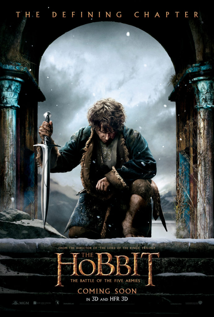 """The Hobbit: The Battle of the Five Armies"" poster"